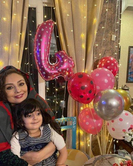 جشن تولد خواهرزاده یکتا ناصر