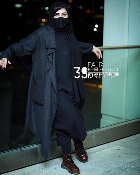 مدل پالتو باران کوثری در اولین روز جشنواره فجر 39,مدل پالتو,مدل پالتو بازیگران زن ایرانی,مدل پالتو در جشنواره فجر