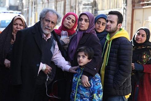 الهام پاوه نژاد در سریال طنز چوب خط