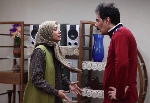 بهنام تشکر و نگار عابدی در سریال دودکش