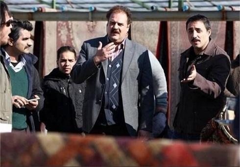هومن برق نورد و امیرحسین رستمی در سریال دودکش