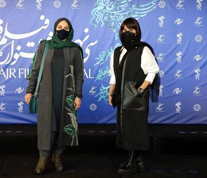 مدل پالتو بالناز شاکردوست و نرگس آبیار در سومین روز جشنواره فجر 39,مدل پالتو,مدل پالتو بازیگران زن ایرانی,مدل پالتو در جشنواره فجر