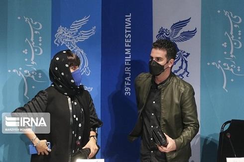هوتن شکیبا و النازشاکردوست در جشنواره فجر