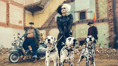 اما استون در نقش شرور خوش پوش کروئلا Cruella