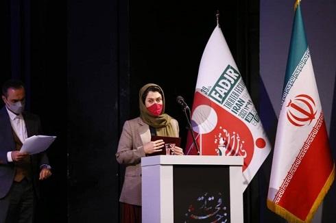بهناز جعفری در جشنواره تئاتر فجر