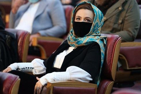 گلاره عباسی در مراسم اختتامیه جشنواره فجر 99