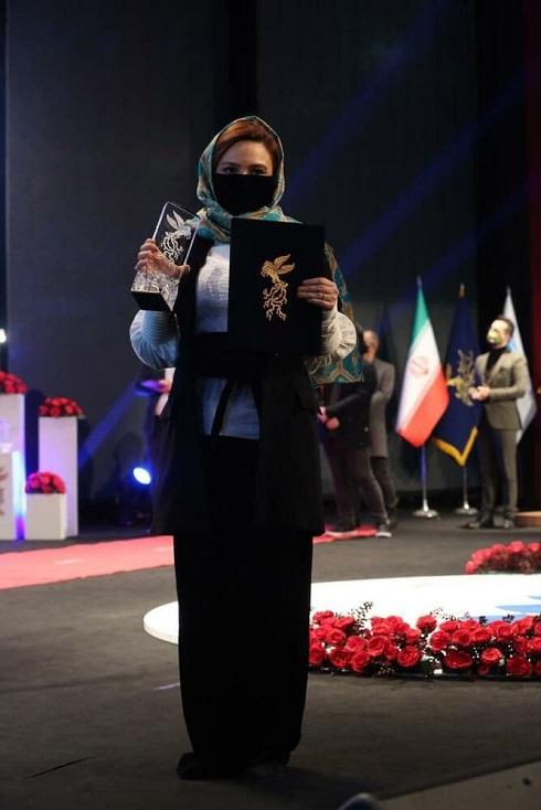 گلاره عباسی بهترین بازیگر مکمل زن جشنواره فجر