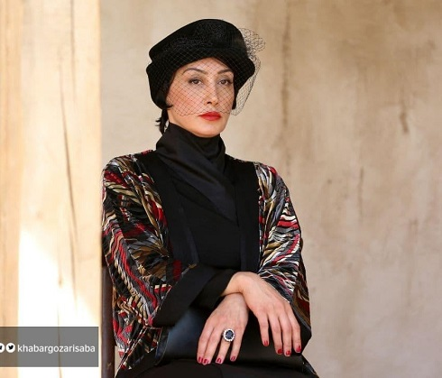 گریم هدیه تهرانی در فیلم بی همه چیز