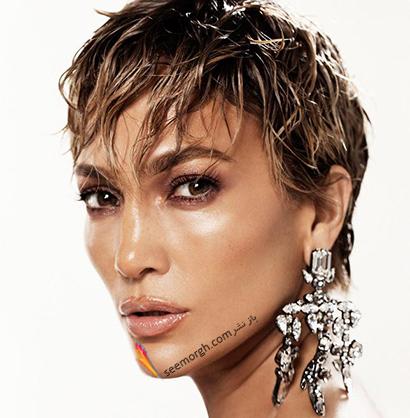 عکس های جنیفر لوپز Jennifer Lopez روی مجله مد Allure