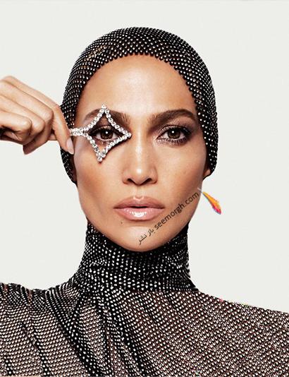 جدیدترین عکس های جنیفر لوپز Jennifer Lopez روی مجله مد Allure