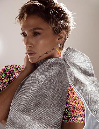 تازه تربن عکس های جنیفر لوپز Jennifer Lopez روی مجله مد Allure