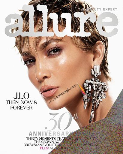 عکس های جدید جنیفر لوپز Jennifer Lopez روی مجله مد Allure