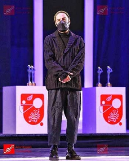 استایل خاص نوید محمدزاده در جشنواره فجر