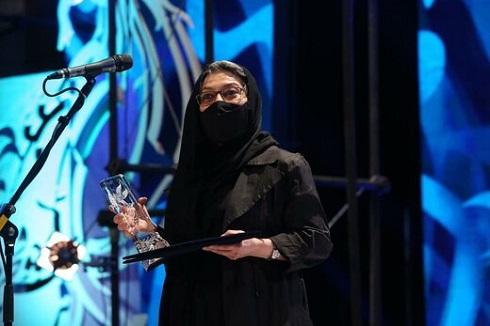 رویا افشار بهترین بازیگر زن جشنواره فیلم فجر