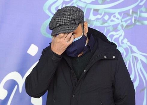 چهره غمگین رضا عطاران در جشنواره فجر