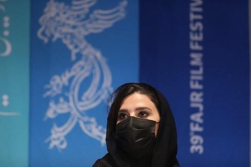 چهره سحر دولتشاهی در جشنواره فجر