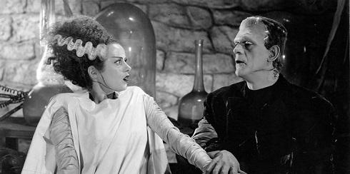 فیلم ترسناک The Bride of Frankenstein