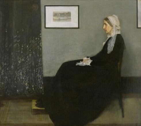 "تابلو نقاشی ""مادر ویستلر"""