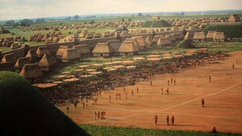 بقایای یک تمدن باستانی کاهوکیا