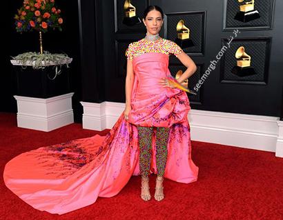 مدل لباس در جوایز گرمی 2021 Grammy - دبی نوا Debi Nova