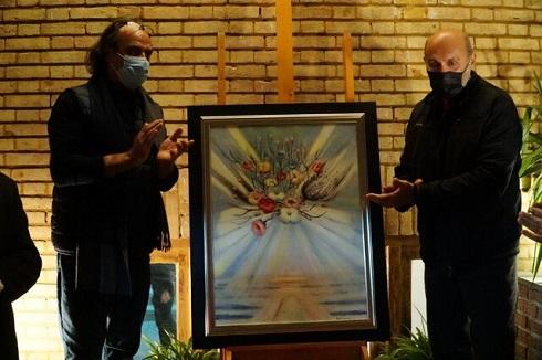 رونمایی از تازه ترین نقاشی ایران درّودی