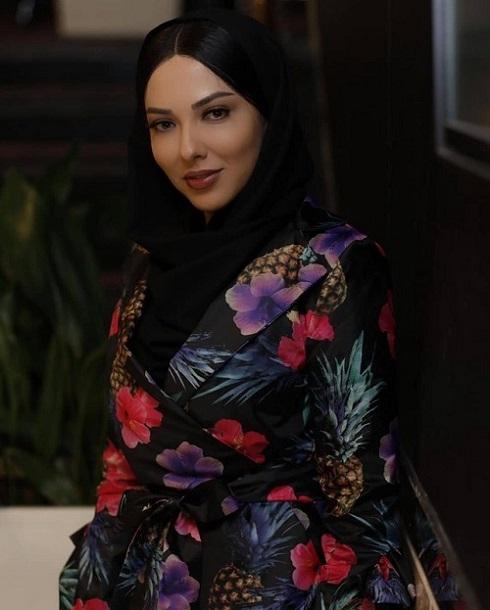 لیلا اوتادی در مراسم اکران فیلم