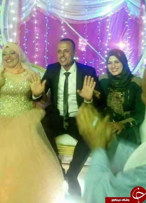 مراسم ازدواج دوم شوهر با حضور همسر اول