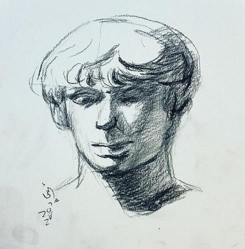 نقاشی هنرمند نابینا امجاد مطیری