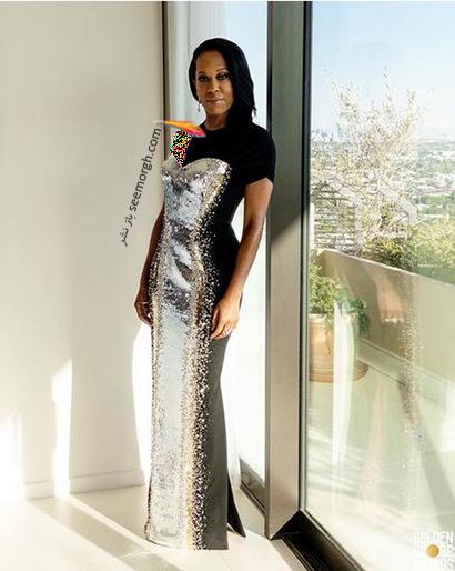 بهترین مدل لباس در گلدن گلوب Golden Globes 2020 - رجینا کینگ Regina King,مدل لباس,مدل لباس در گلدن گلوب,بهترین مدل لباس,بهترین مدل لباس در گلدن گلوب 2021