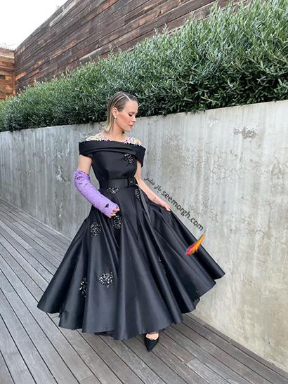 بهترین مدل لباس در گلدن گلوب Golden Globes 2020 - سارا پلسون Sarah Paulson,مدل لباس,مدل لباس در گلدن گلوب,بهترین مدل لباس,بهترین مدل لباس در گلدن گلوب 2021