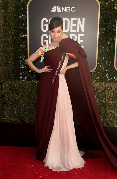 بهترین مدل لباس در گلدن گلوب Golden Globes 2020 - سوفیا کارسون Sofia Carson,مدل لباس,مدل لباس در گلدن گلوب,بهترین مدل لباس,بهترین مدل لباس در گلدن گلوب 2021