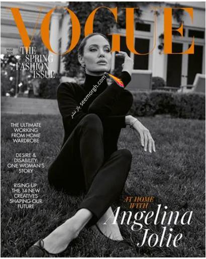 جدیدترین عکس های مجله ووگ از آنجلینا جولی Anjelina Jolie