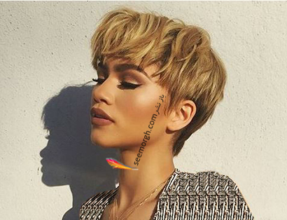 بهترین مدل مو کوتاه زنانه برای بهار 2021 - مدل مو شماره 6
