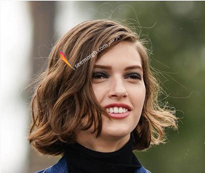 بهترین مدل مو کوتاه زنانه برای بهار 2021 - مدل مو شماره 5