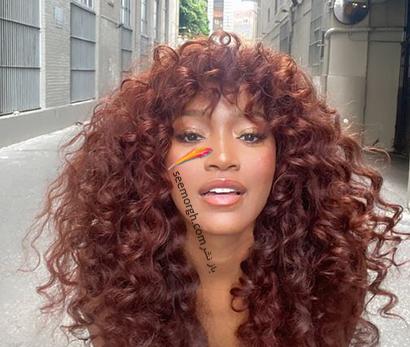 رنگ مو قرمز مسی برای بهار 2021,رنگ مو,رنگ مو بهاری,رنگ مو بهاری 2021,رنگ مو برای بهار,بهترین رنگ مو برای بهار 2021,