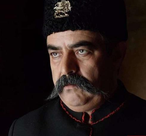 حسن معجونی در نقش ناصرالدین شاه سریال آهوی من مارال