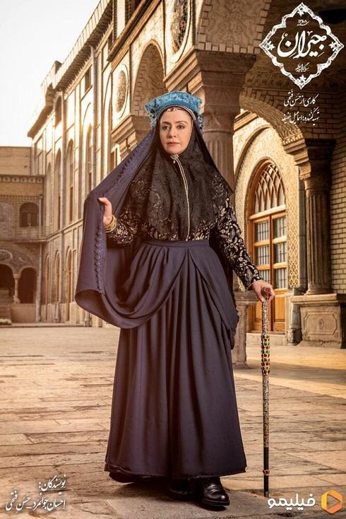 عکس مریلا زارعی در نقش مهدعلیا در سریال «جیران»