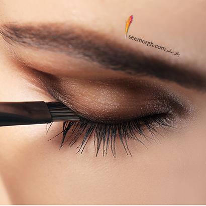 اشتباه اول در کشیدن خط چشم : همیشه خط چشم مشکی انتخاب می کنید