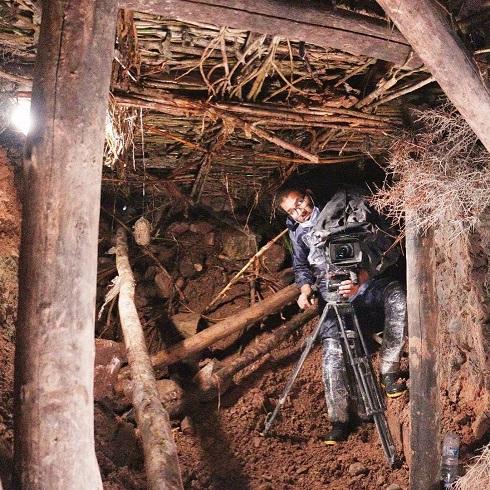 پشت صحنه ساخت معدن طلا در سریال نون خ