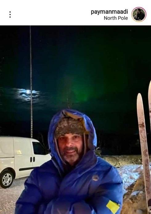پیمان معادی در سرمای قطب شمال