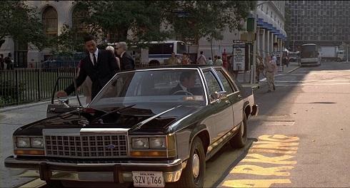 خودرو دیدنی در فیلم مردان سیاه پوش (۱۹۹۷)