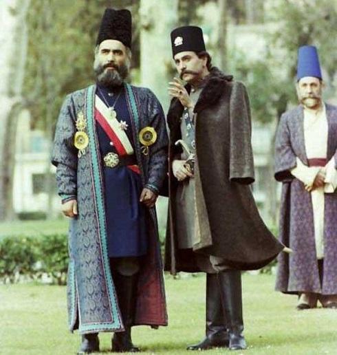 ایرج راد ناصرالدین شاه سریال امیرکبیر