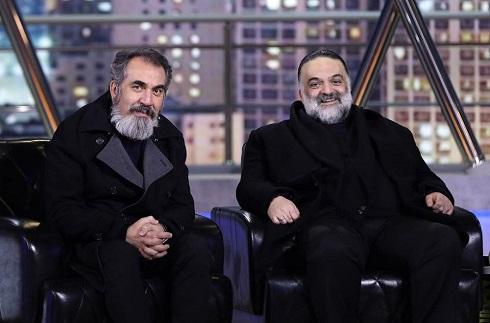 سیامک انصاری و علیرضا عصار در همرفیق