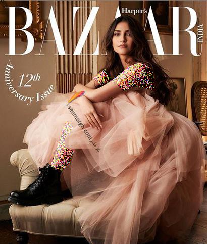جدیدترین عکس های سونام کاپور Sonam Kapoor روی مجله مد Harpers Bazaar - عکس شماره 4
