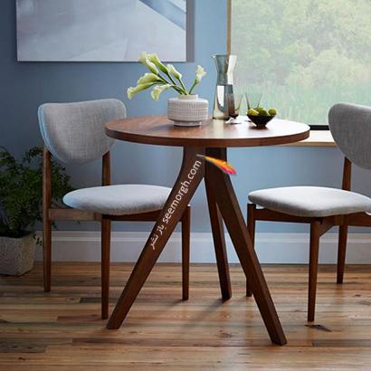 میز ناهارخوری سه پایه,9 مدل میز ناهارخوری برای فضاهای کوچک,میز ناهارخوری برای فضاهای کوچک,میز ناهارخوری برای آپارتمان های کوچک