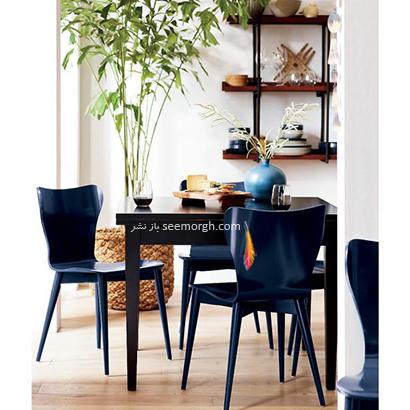 میز ناهارخوری مربع,9 مدل میز ناهارخوری برای فضاهای کوچک,میز ناهارخوری برای فضاهای کوچک,میز ناهارخوری برای آپارتمان های کوچک