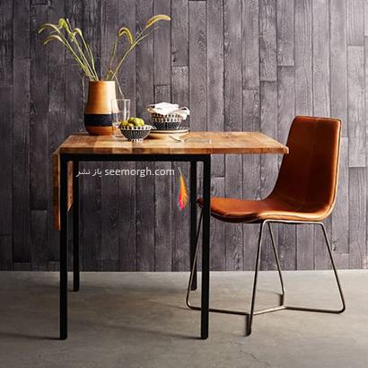میز ناهارخوری تبدیل شونده,9 مدل میز ناهارخوری برای فضاهای کوچک,میز ناهارخوری برای فضاهای کوچک,میز ناهارخوری برای آپارتمان های کوچک