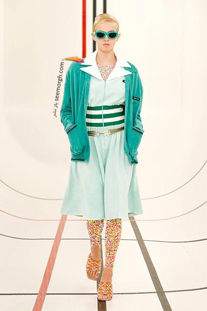 بهار 2021 چه رنگ هایی بپوشیم؟ رنگ سبز آبی ترند بهار 2021,رنگ های ترند بهار 2021 در دنیای مدv