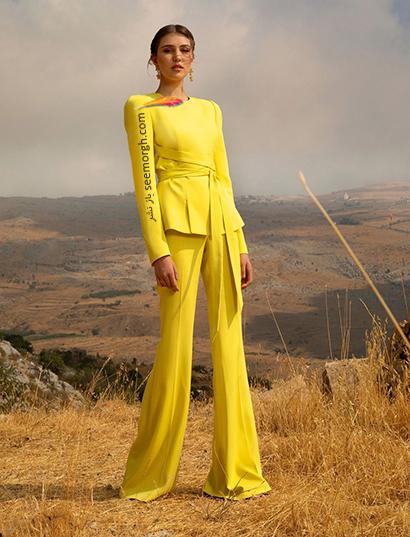 بهار 2021 چه رنگ هایی بپوشیم؟ رنگ زرد ترند بهار 2021,رنگ های ترند بهار 2021 در دنیای مد