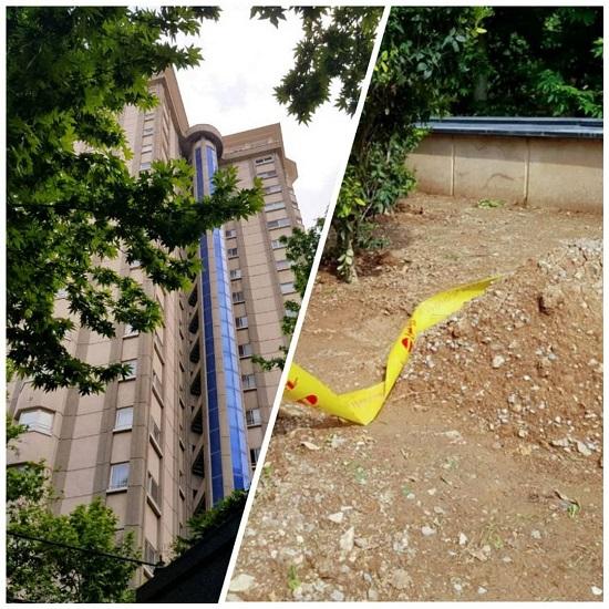 محل کشف جسد دبیر اول سفارت سوئیس در تهران